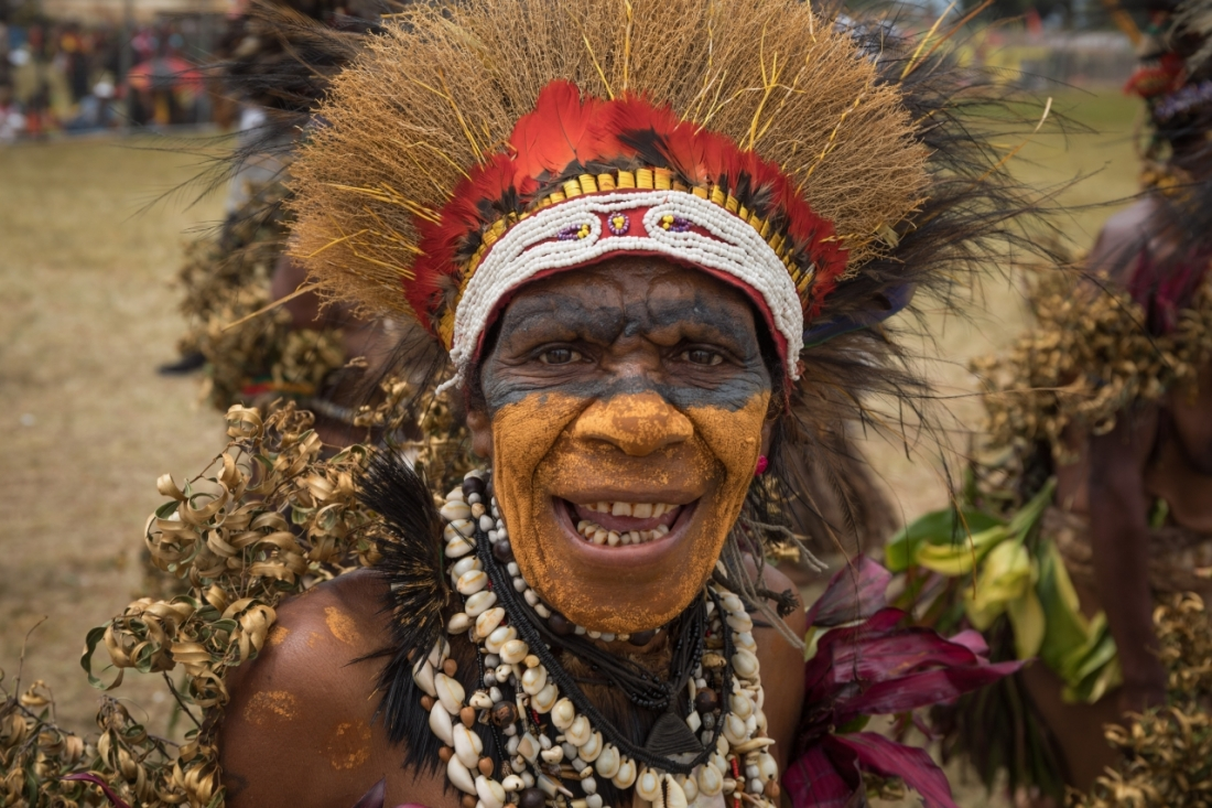 Goroka Festival Tribal Chief