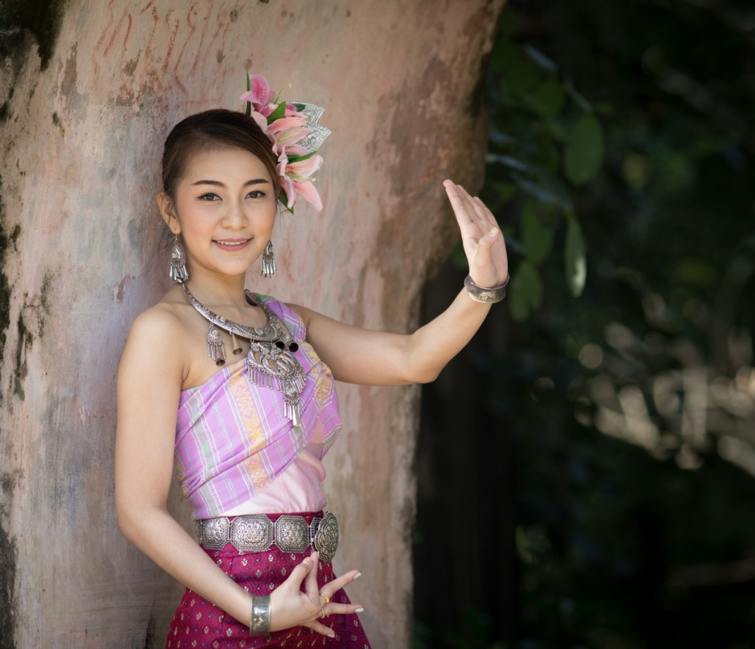 Classical Thai Dancer